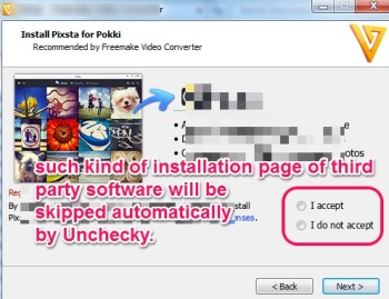 Unchecky- skip third party installation page
