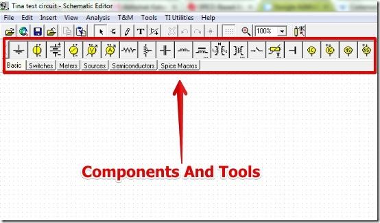 TINA-TI - User Interface