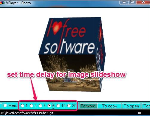 VPlayer- play image slideshow