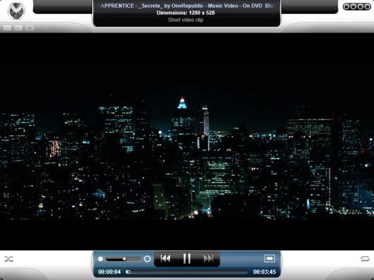Venux Multimedia Engine- interface