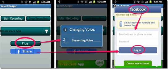 Voice Changer_Play and Share