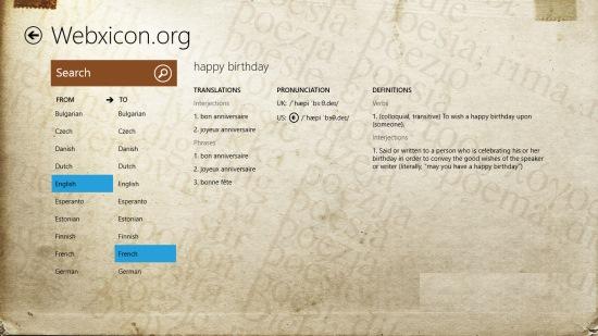 Webxicon.org-Search