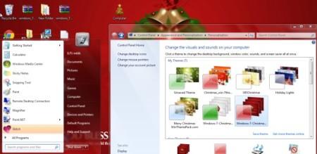 Windows 7 Christmas Theme-free Christmas theme for Windows 7-theme