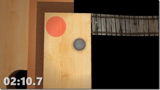 Wooden Marble Maze - gameplay