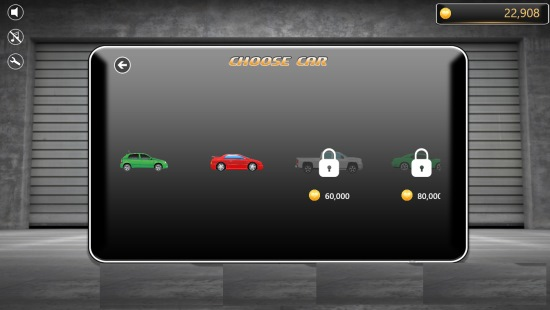 XRacer- Choose car