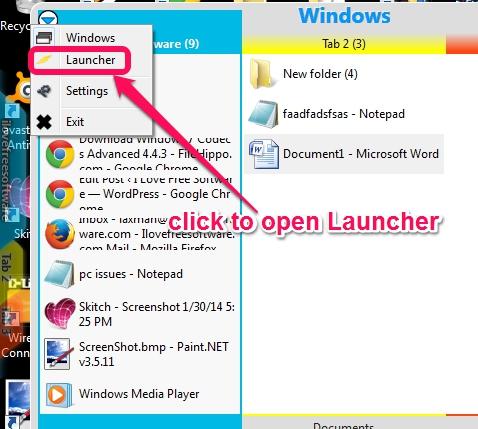 access Launcher