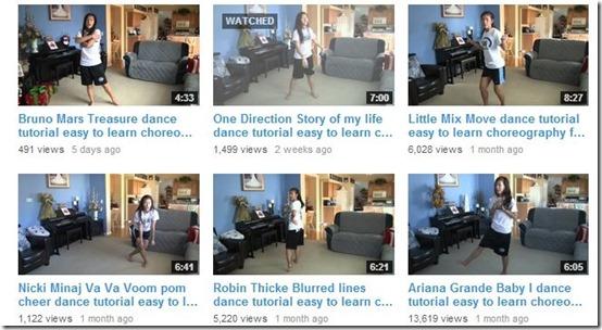 YouTube Channels-YouTube Channels-easy2dance
