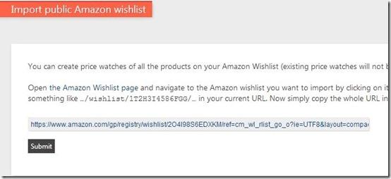 keepa-amazon price tracking website-track wishlist