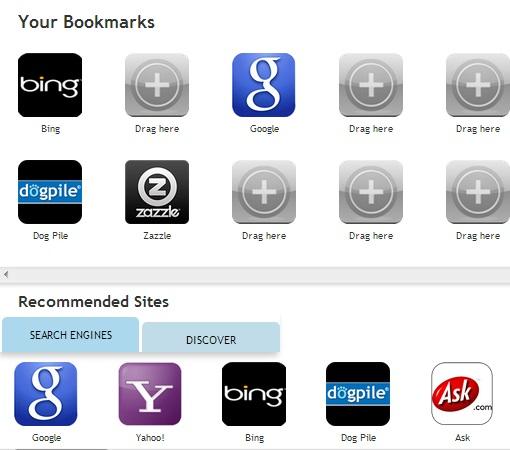 myWebRoom- add bookmarks
