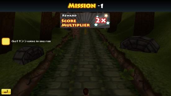 3D Jungle Run- Mission