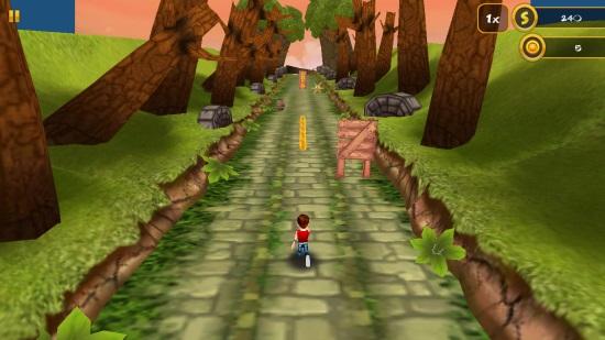 3D Jungle Run