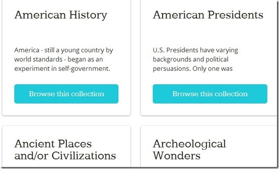 Awesome Stories- learn history online-home page