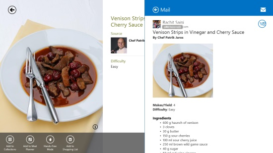Bing Food & Drink- Share