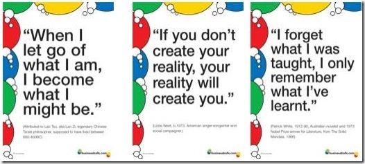 BusinessBalls Posters