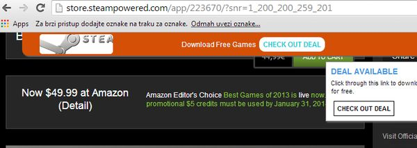 Chrome amazone price histoy extensions steam price finder