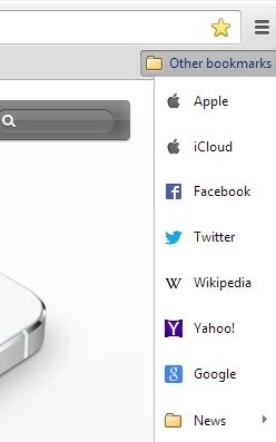 Chrome bookmark extensions bookmarks icloud