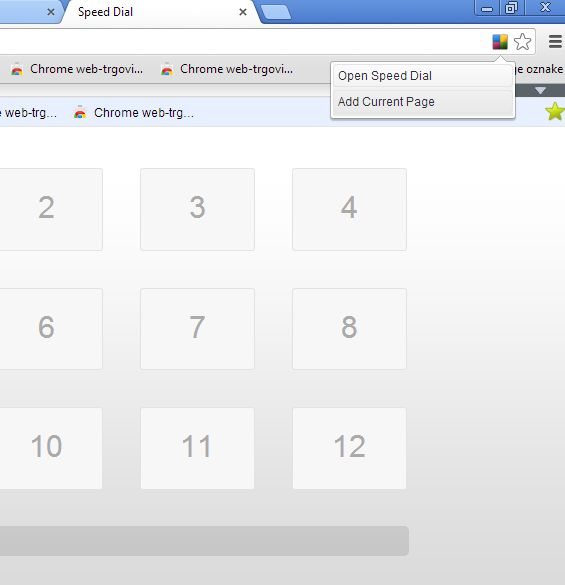 Chrome speed dial extensions chrome speed dial