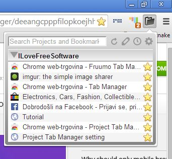 Chrome tab manager extensions project tab manager