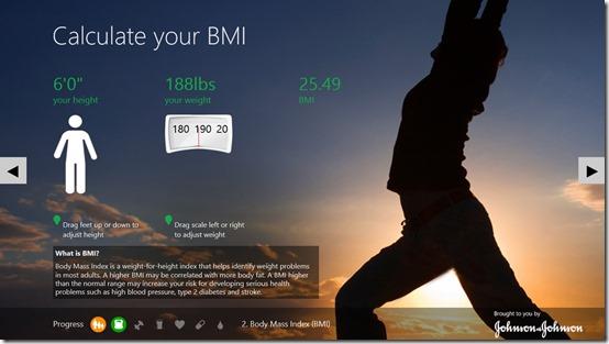 Digital Health Scorecard- BMI