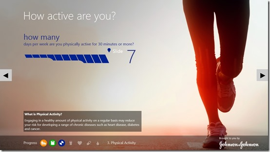 Digital Health Scorecard- Physical Activity