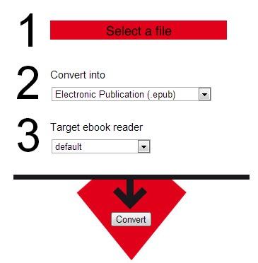 Files-conversion- convert an eBook