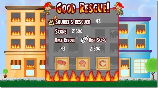 Fire Drill Rescue - score