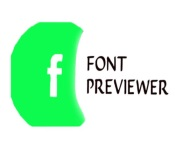 Font Previewer - icon
