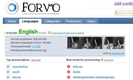Forvo-learn pronunciation online-icon