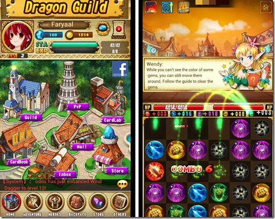 Free Gems Matching Game for Android