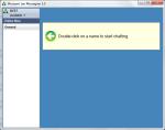Free LAN Chat Application for Windows - Mossawir Lan Messegner