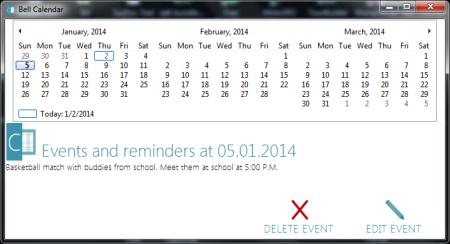 Free Office Package - Bell Office - Bell Calendar