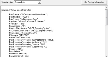 Free System Information Utility For Windows - FreeSysInfo - Gathering System Information