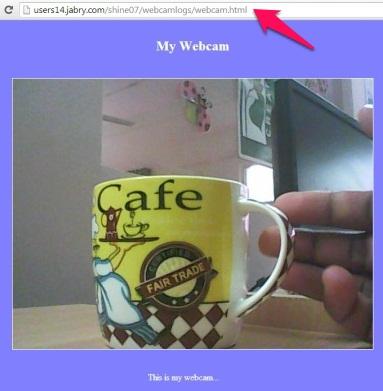 Free Webcam Surveillance Software - TinCam - On the website