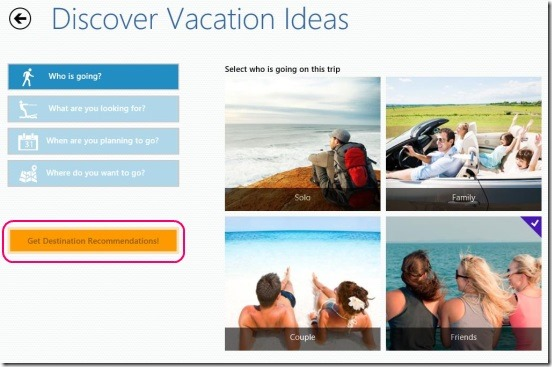 Georama - discovering vacation destinations