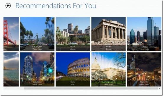 Georama - recommendations