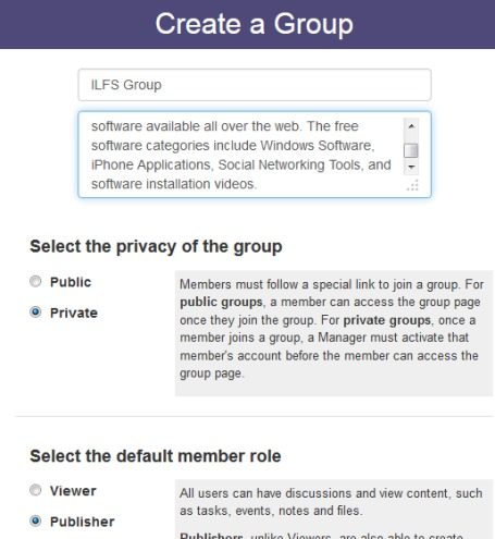 Groupiful- create a group