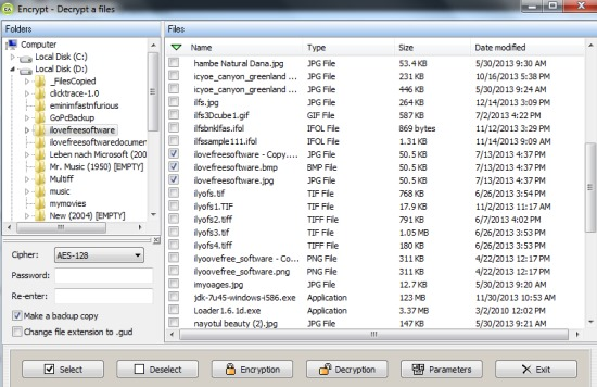 Encrypt Files Password Protect Encrypted Files Using
