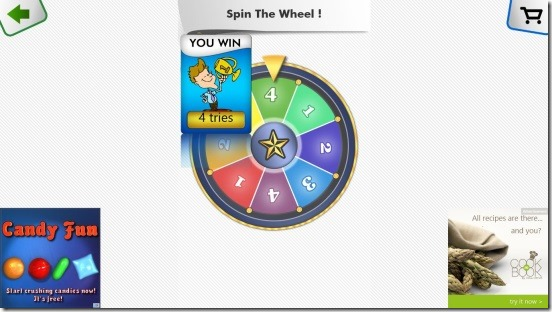 Guess The Color HD - tries wheel