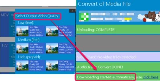 HDconvert.com- online media converter