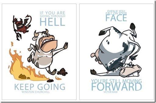 Herd Wisdom Motivational Posters