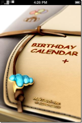 Birthday Calendar+