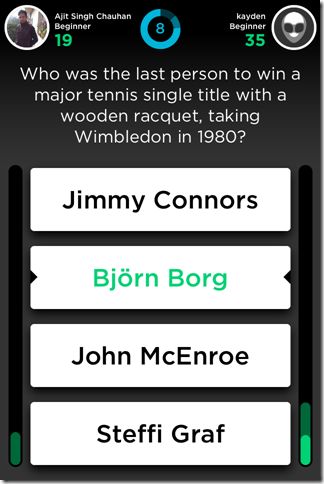QuizUp Questions
