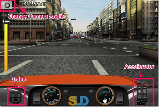 Dr. Driving Game Window