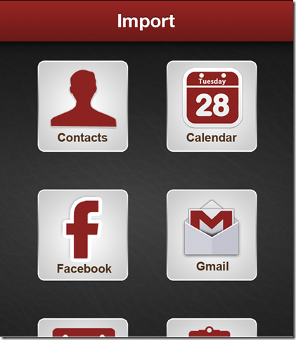 Importing Events
