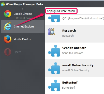 Internet Explorer Plugins