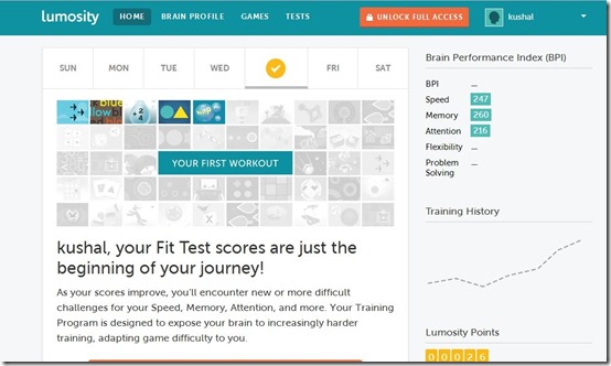 Lumosity-improve memory-home page