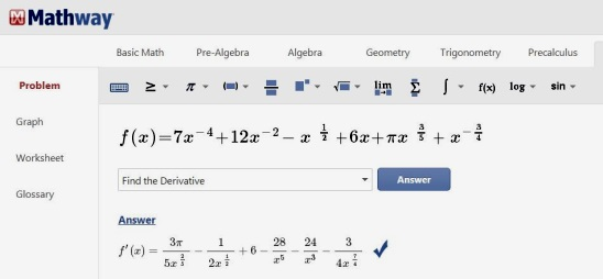 Online Math Problem Solver For Geometry, Calculus ... on