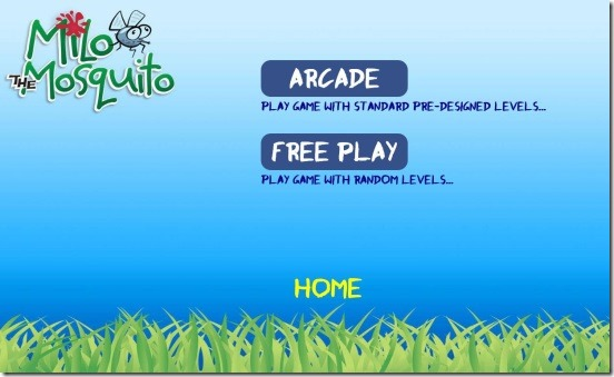 Milo the Mosquito - game mode