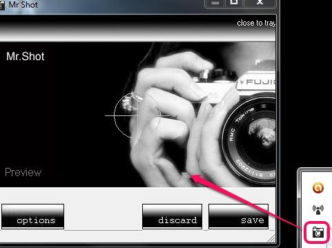Mr Shot- interface
