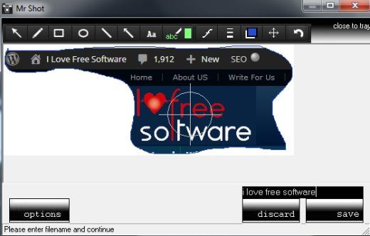 Mr Shot- screenshot capture software